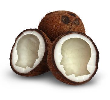tomar una cucharadita de aceite de coco