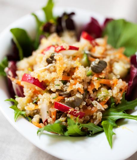 Ensalada crujiente quinoa