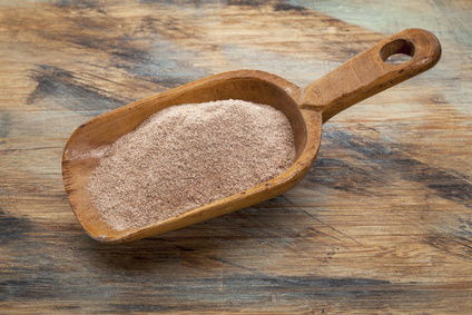 scoop of teff flour