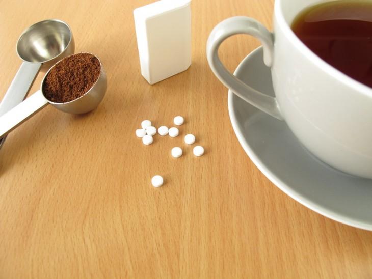 Sacarina café