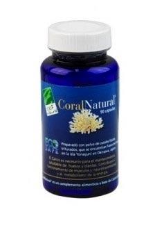 Bote con coral natural
