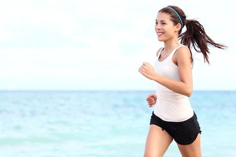 deportista mujer running