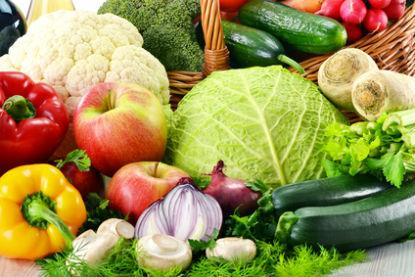 Verduras y frutas para una dieta antiinflamatoria