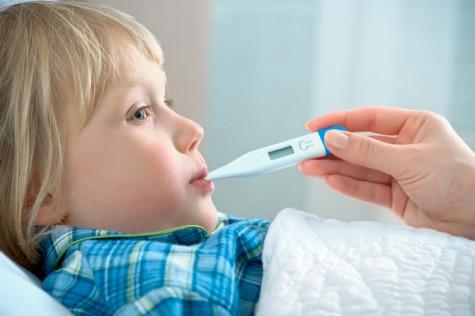 niño fiebre