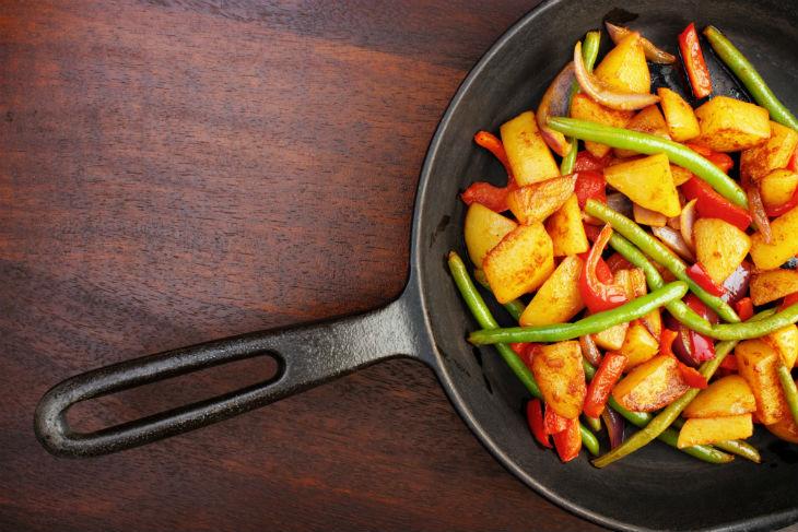 Utensilios cocina alimentación saludable