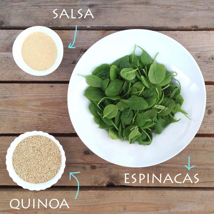 Ingredientes ensalada embarazo