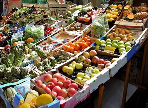 fruta verdura mercado