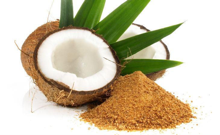 Coco y azúcar de coco