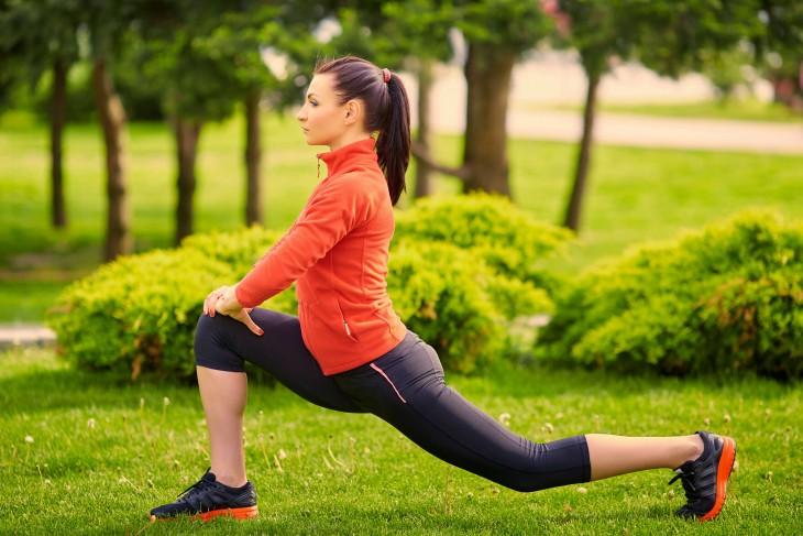 deporte mujer running
