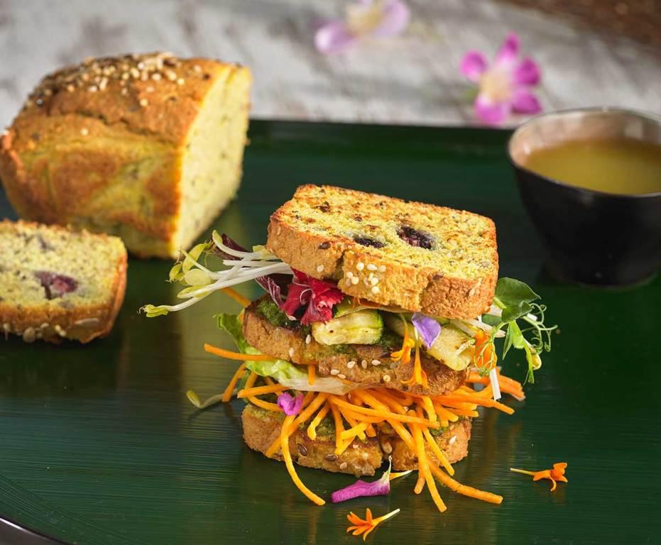 Receta de pan de coco y lino
