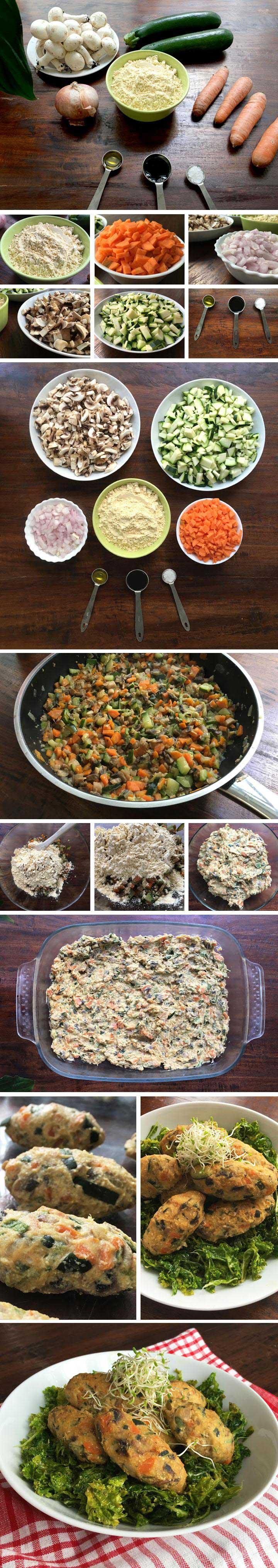 Ingredientes y elaboración croquetas de verduras
