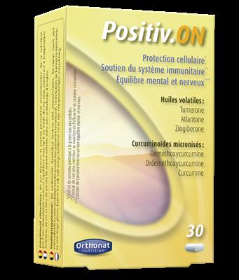 Positiv_ON. Extracto estandarizado y micronizado de cúrcuma