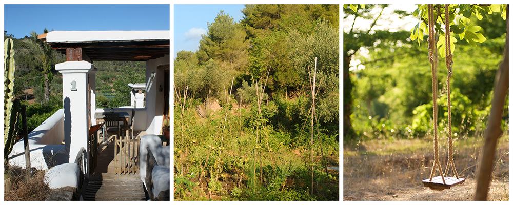 Espacios de vegetación a Can Martí