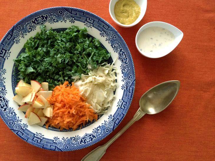 Ingredientes kaleslaw
