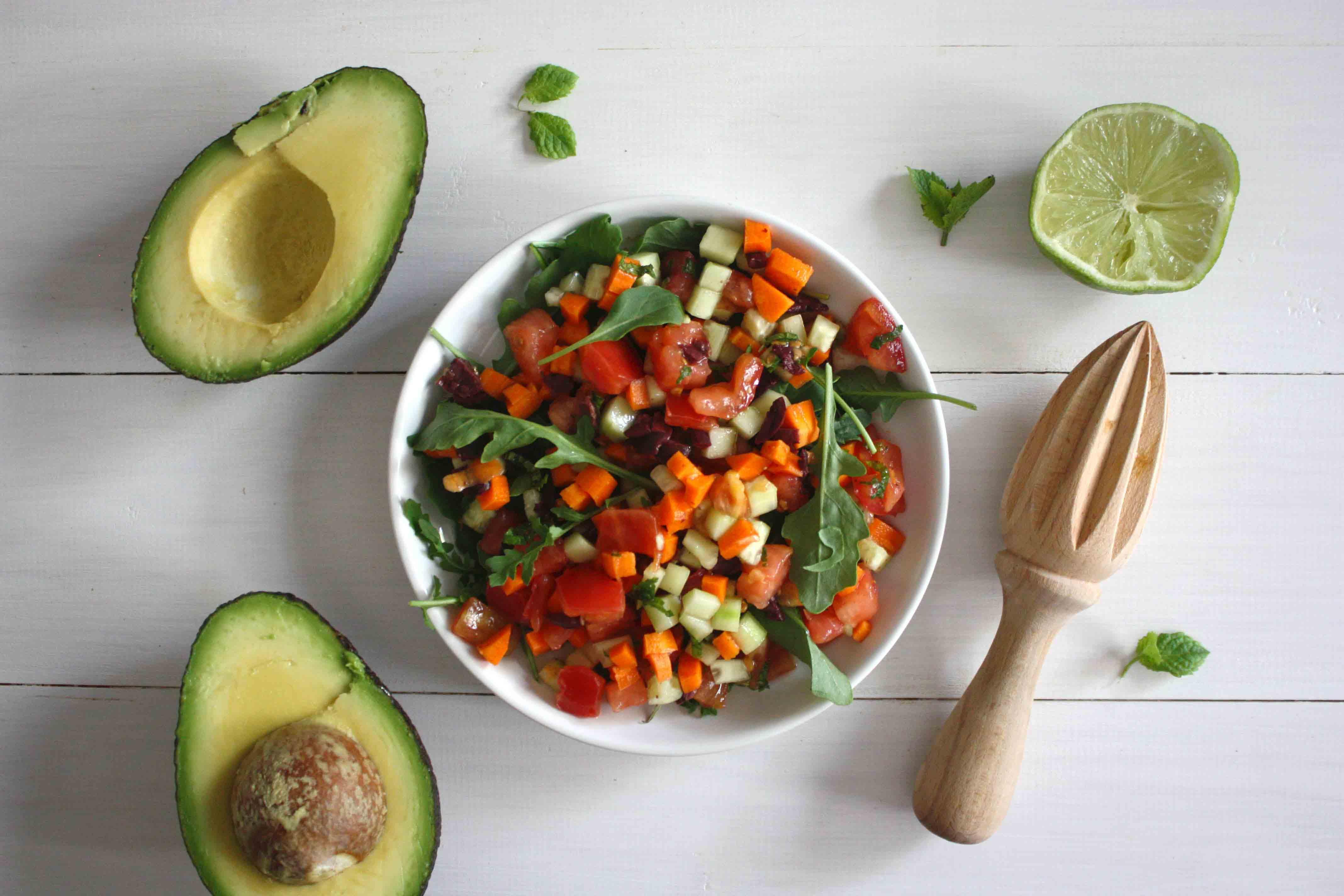 Ingredientes pimiento relleno de hortalizas