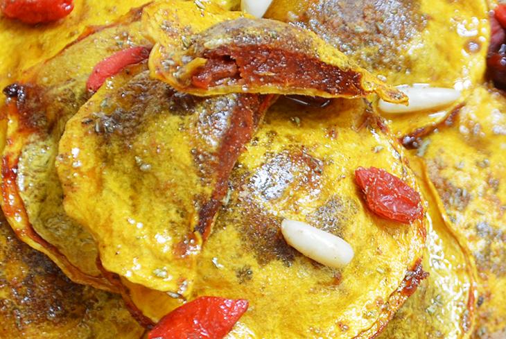 Ravioli de calabaza