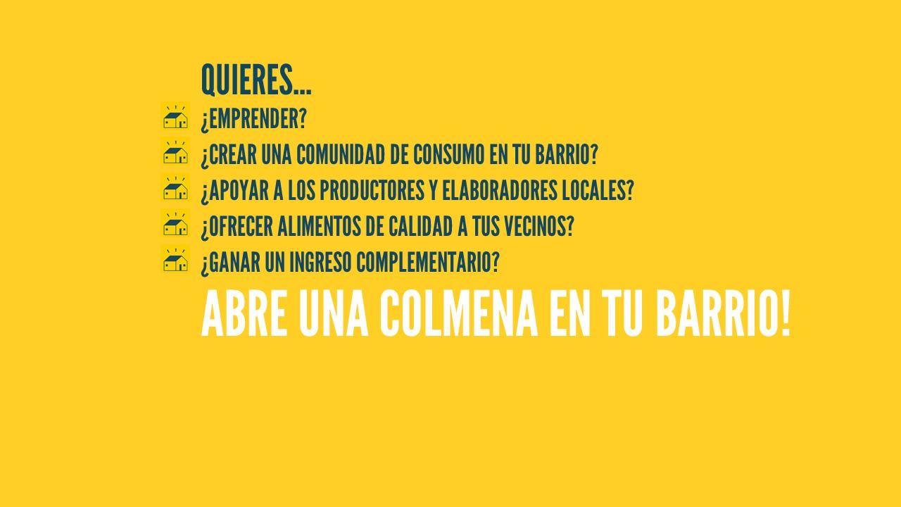 Emprende con La Colmena Que Dice Sí!