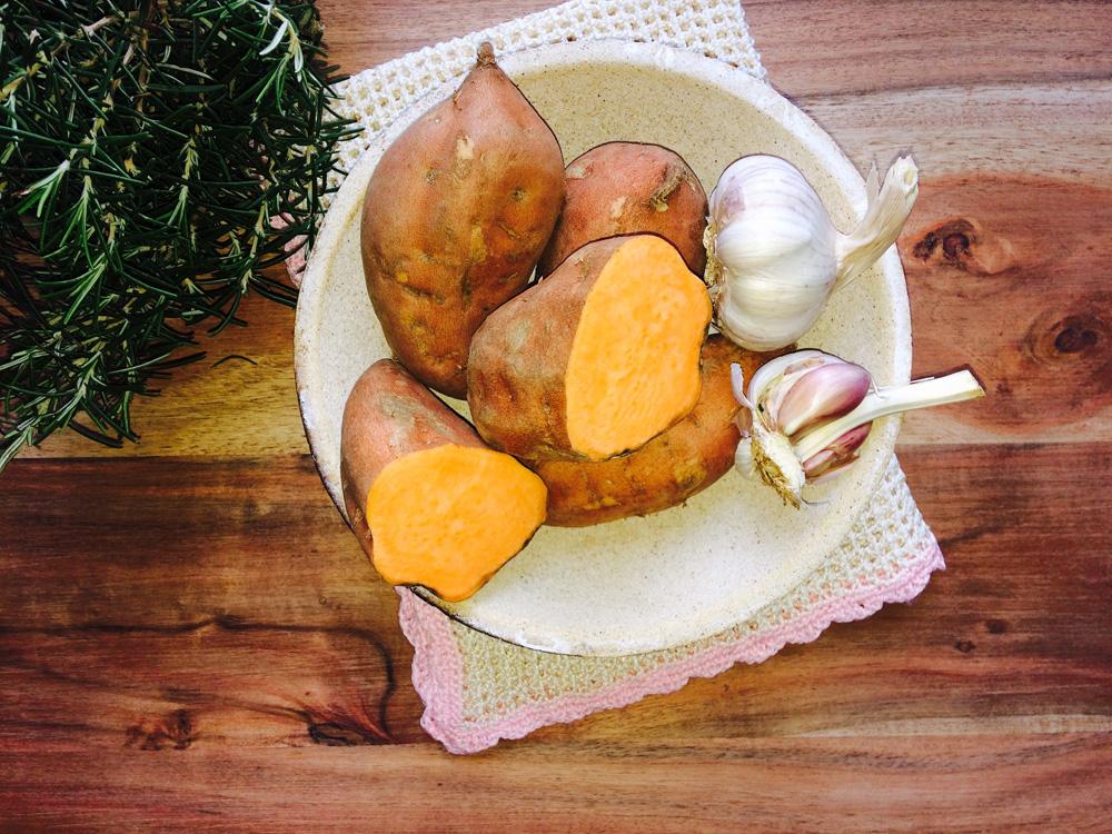 Crema de batata al romero