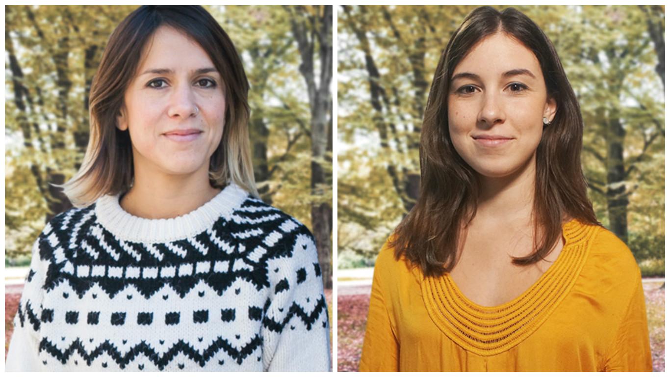 Pilar Rodrigáñez y Gina Estapé