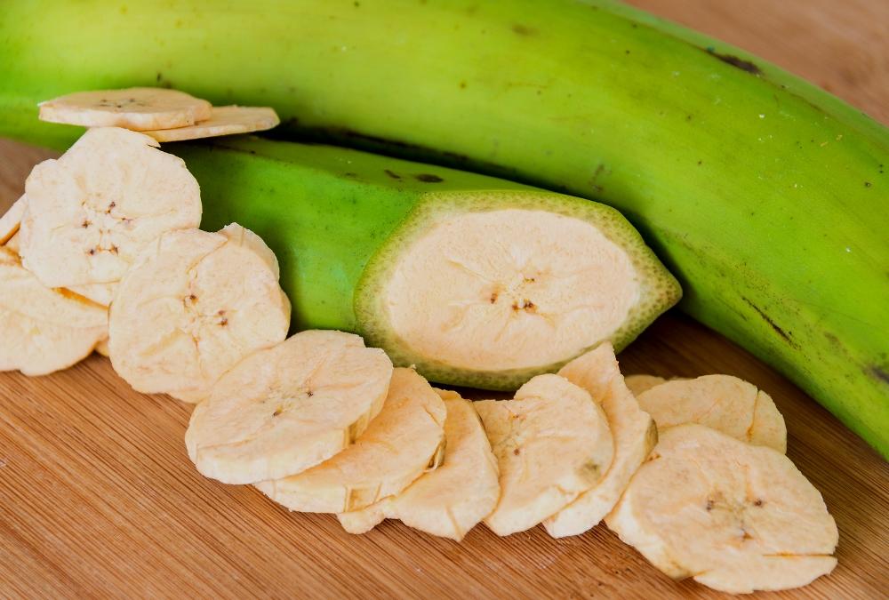 plátano macho maduro calorías