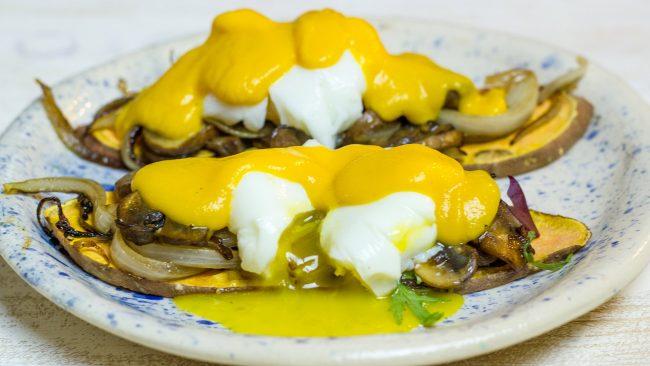 Receta huevos benedict