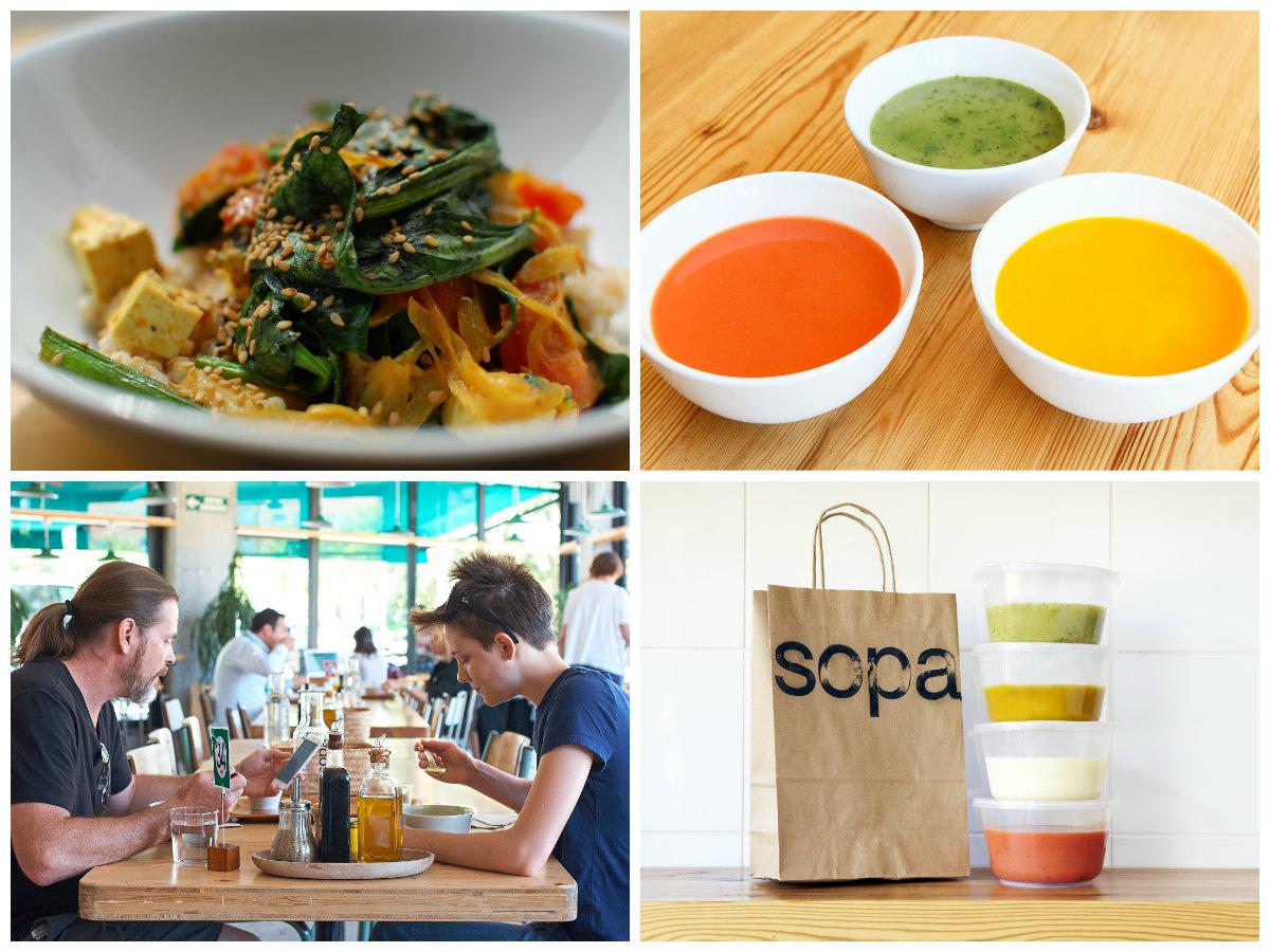 Sopa Barcelona, un restaurante 100% Soycomocomo