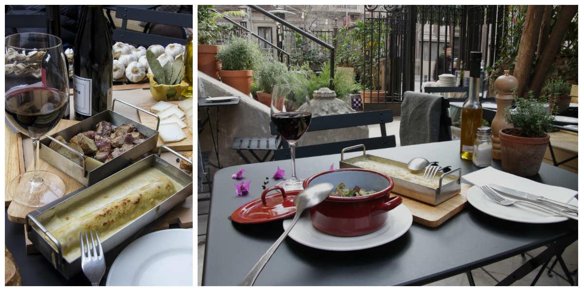 El Mercader de l'Eixample, cocina local y orgánica en el centro de Barcelona
