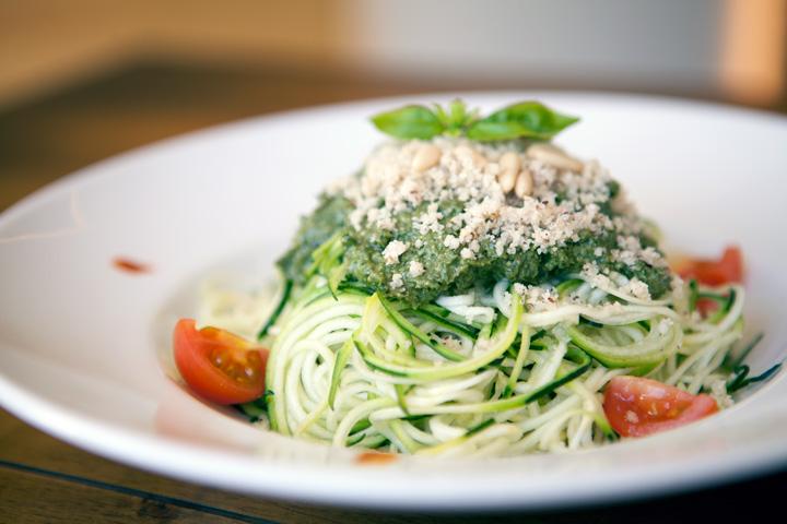 Espaguetis de calabacín de Level Veggie