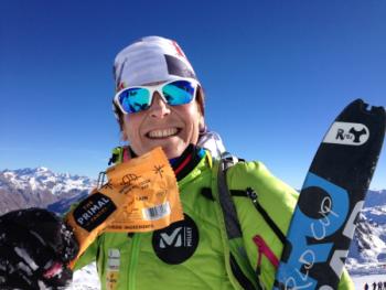 Marta Riba, ganadora de la Copa del Mundo de Esquí de Montaña de larga distancia
