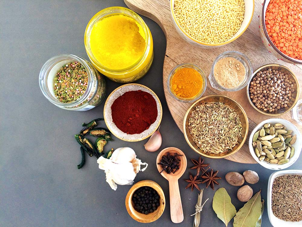 Ingredientes kitchari