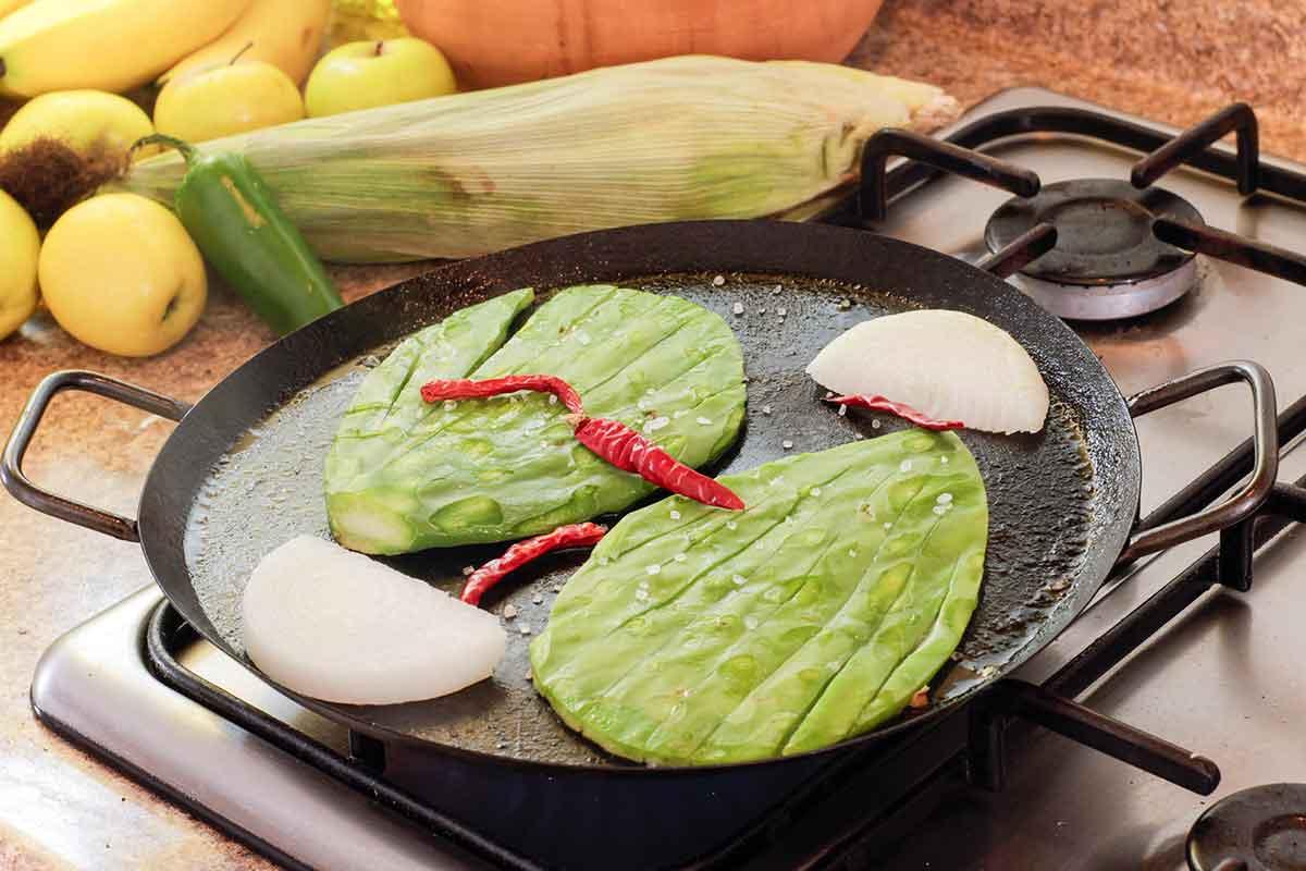 El nopal, las hojas de cactus que se pueden comer