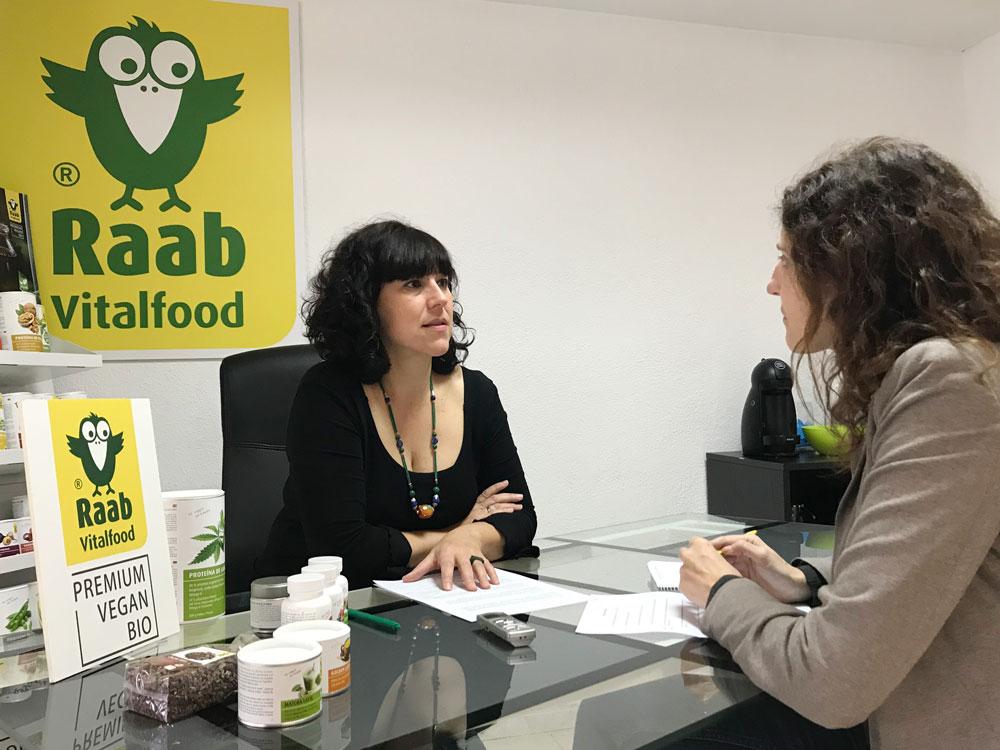 Olga Casabayó, Departamento Comercial España en Raab Vitalfood