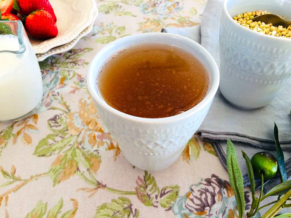 Choco-Fondant de trigo sarraceno con té Sobacha