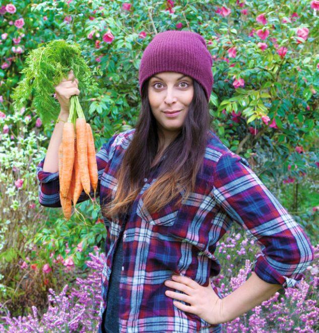 """Marie Laforêt, chef y autora de """"Healthy Vegan"""""""