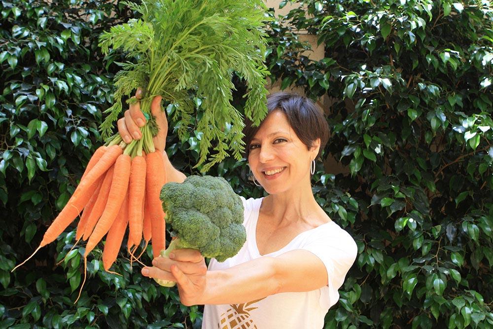 """Cristina Manyer, chef, coach y conductora del curso en línea """"I love verdura"""""""