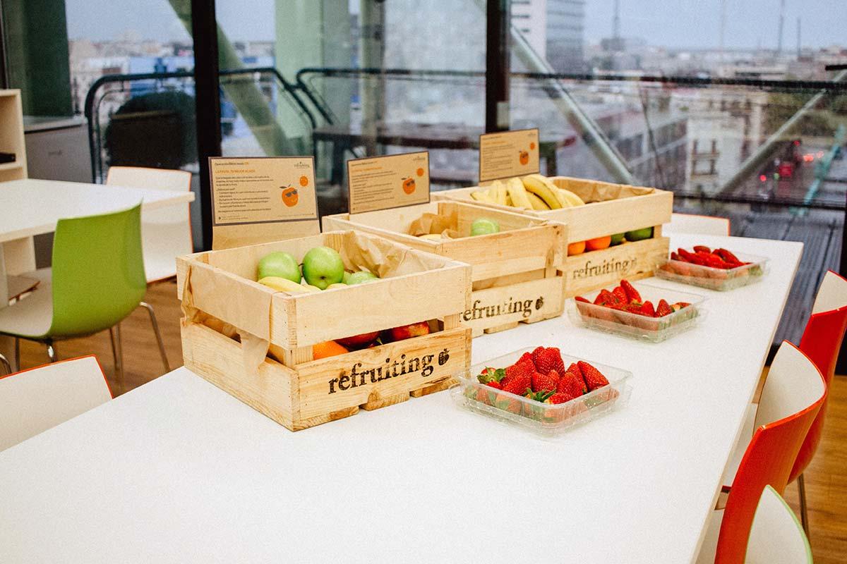 ¿Es posible picar saludable en el trabajo?