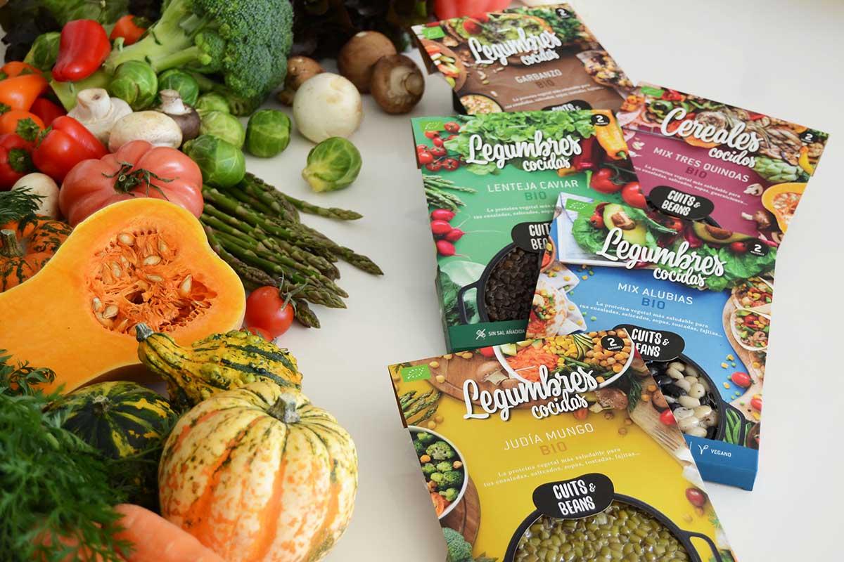 Cuits&Beans, una nueva forma de consumir legumbres vivas