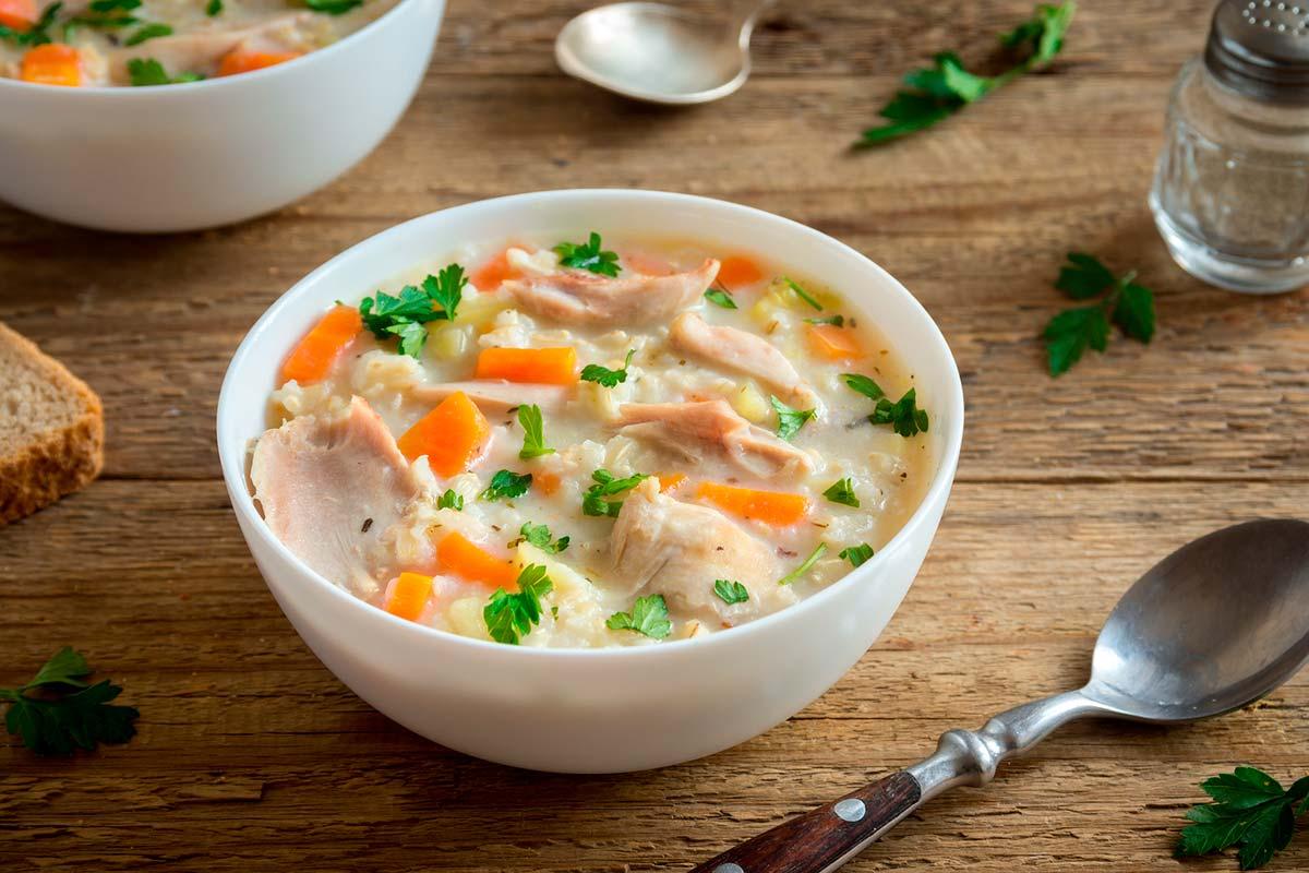Cómo escoger una sopa deshidratada