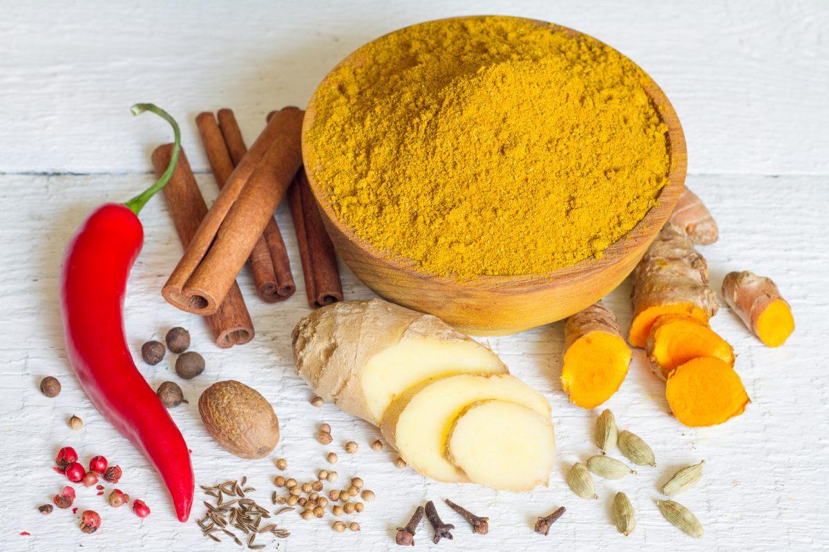 Beneficios terapéuticos del curry