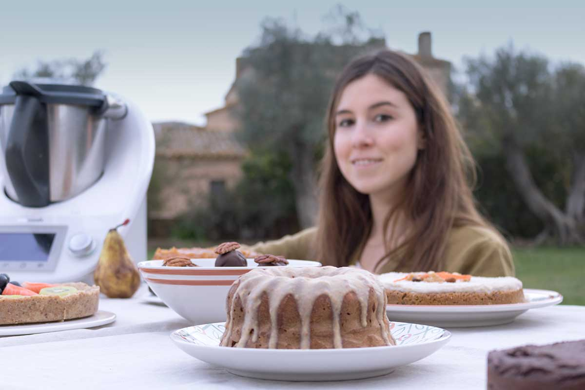 Recetas de dulces sanos con robot de cocina