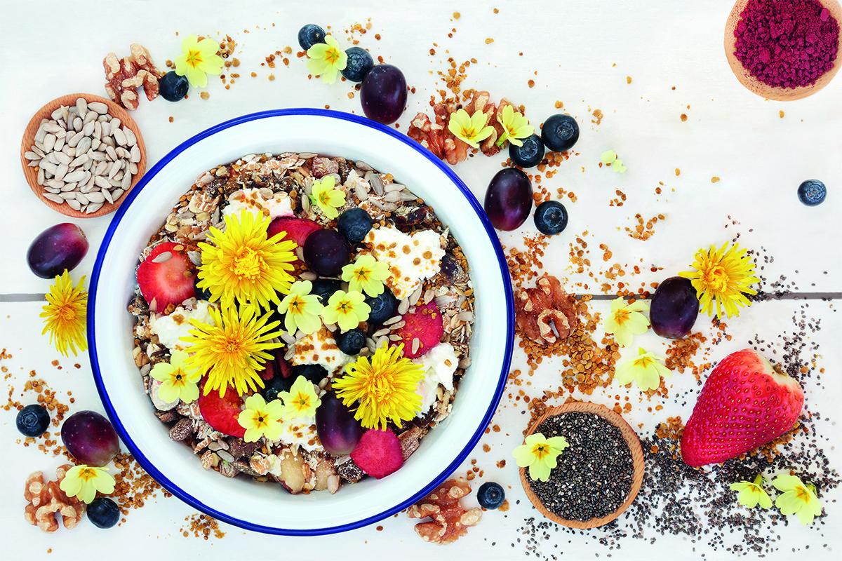 las flores pueden comerse