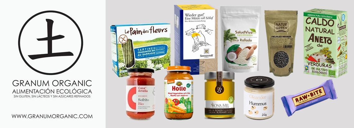 Sorteamos 1 lote de productos de Granum Organic