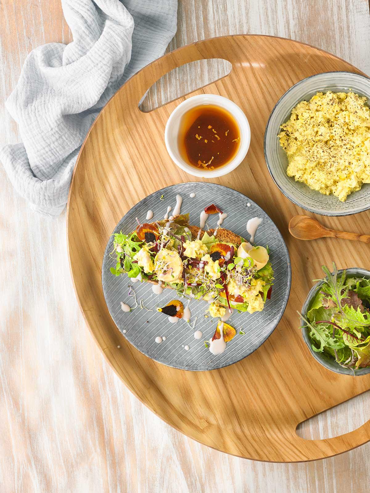 Receta de migas de tofu