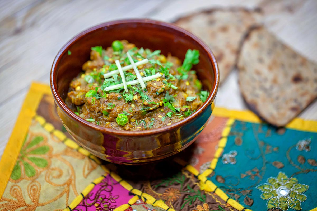 Alternativa vegana a la proteína del restaurante Rangoli