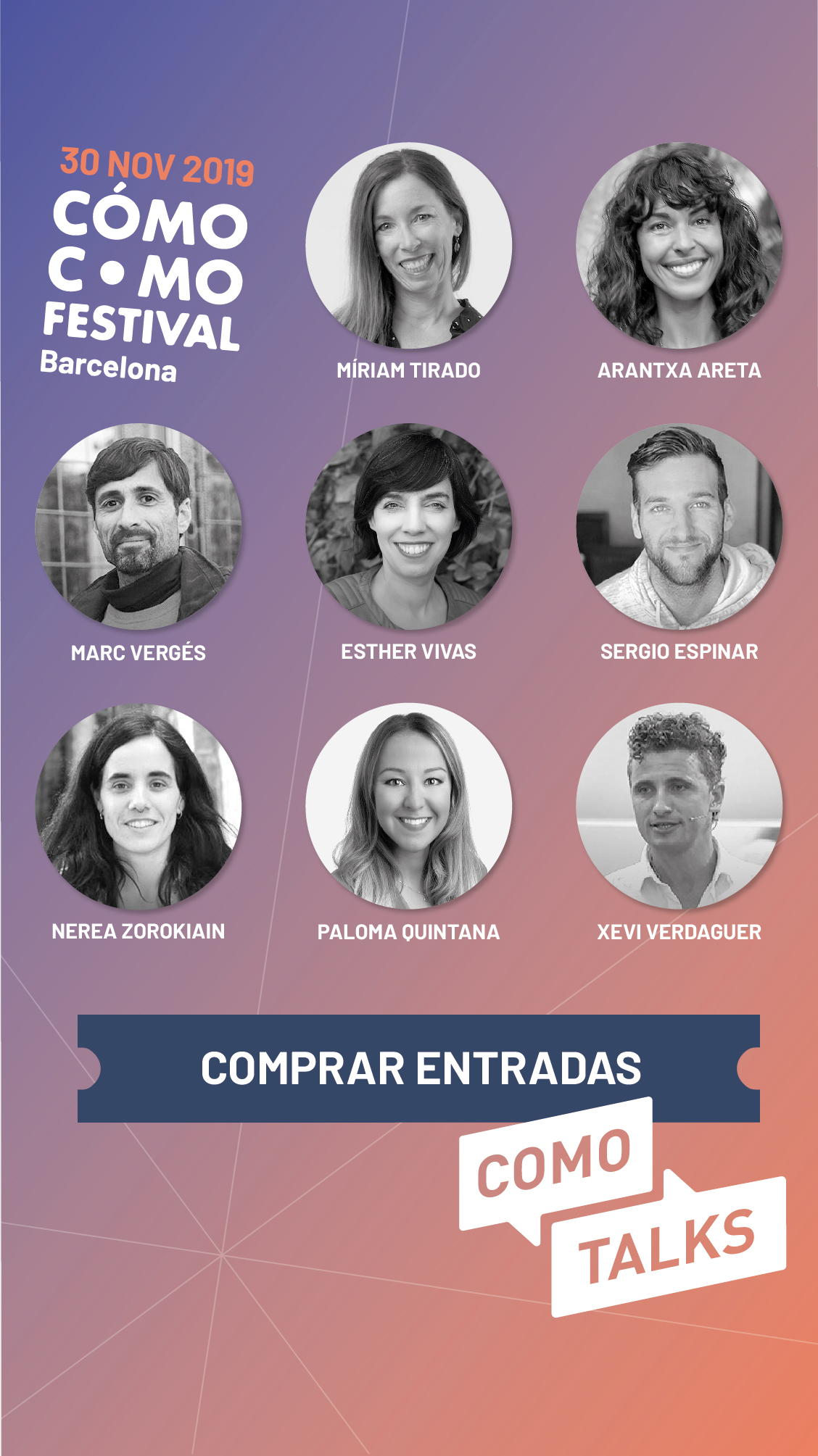 cómo como festival barcelona 2019