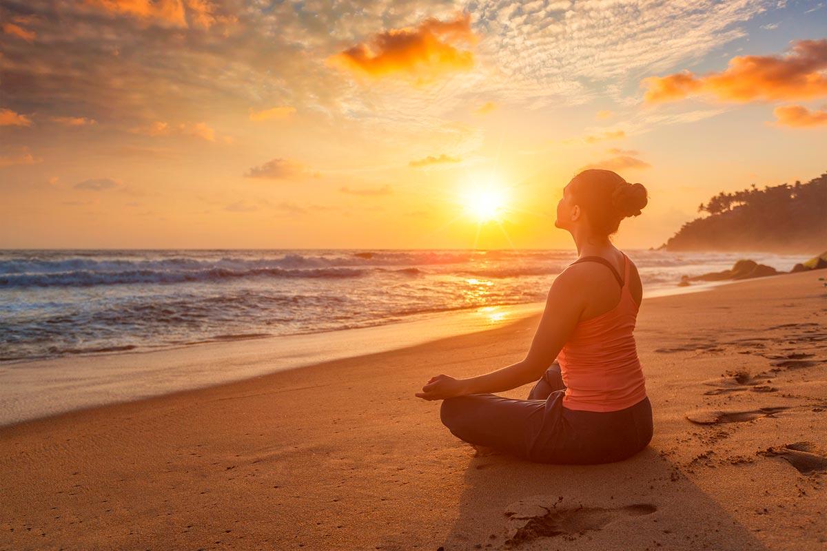 Ejercicio práctico de meditación delante del mar