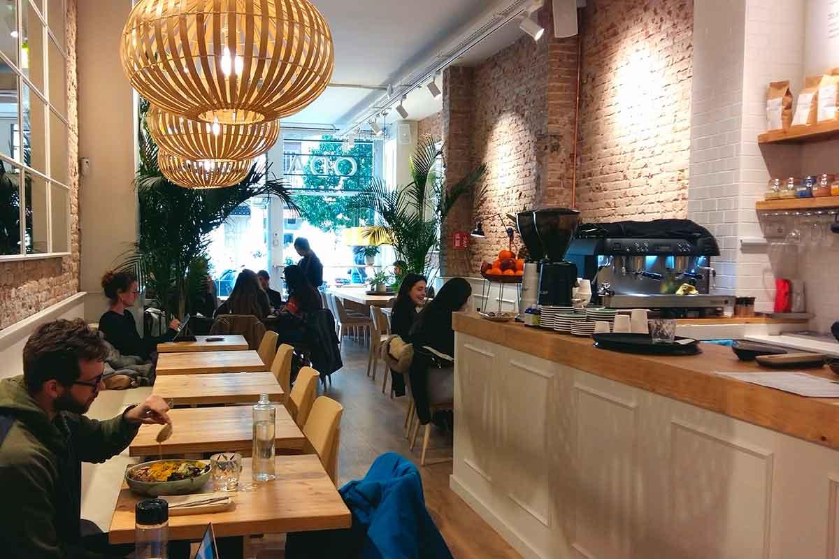 Restaurante saludable y vegetariano en Barcelona Odacova
