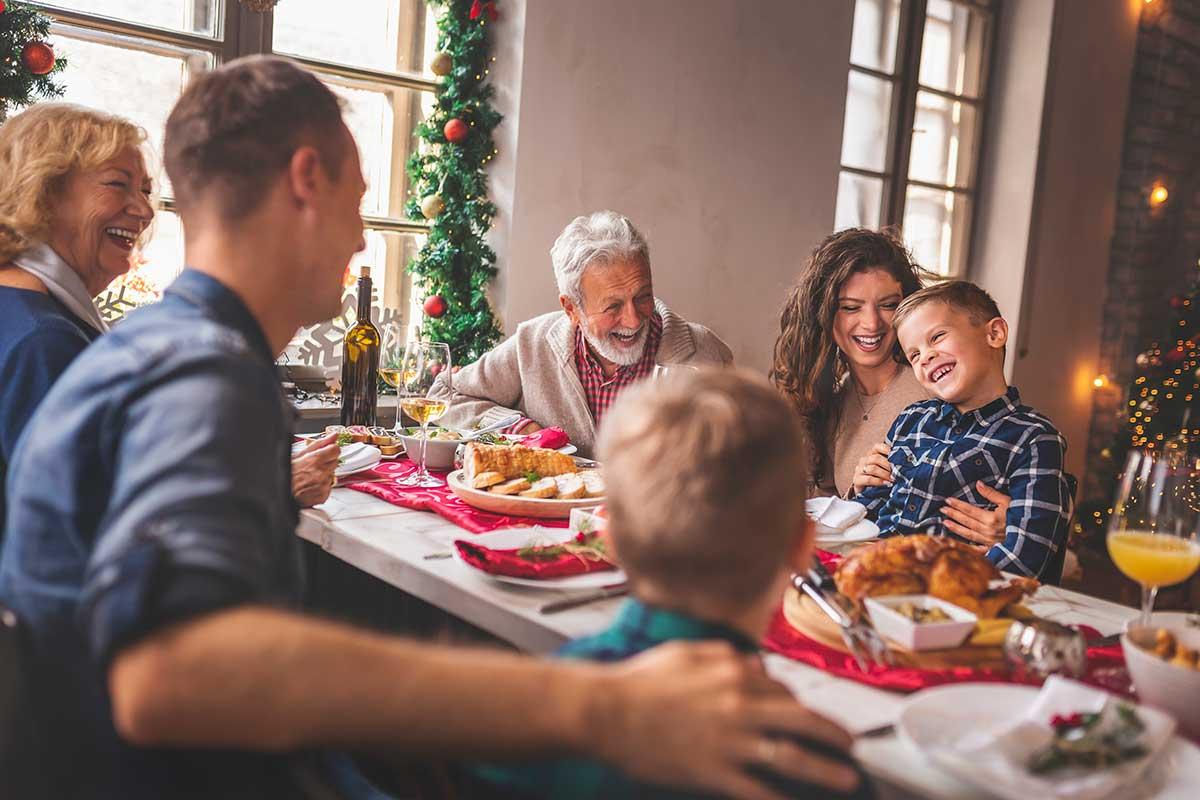 Comida de Navidad saludable