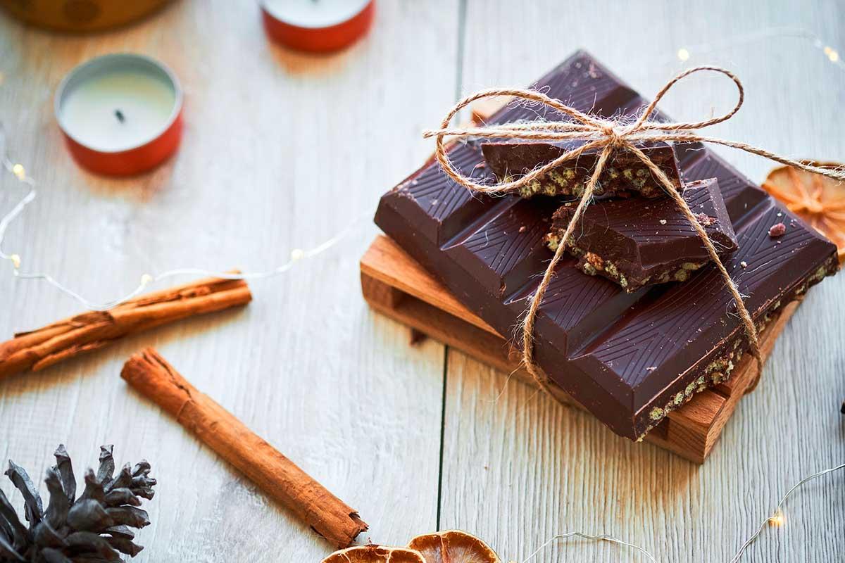 Receta turrón de chocolate saludable