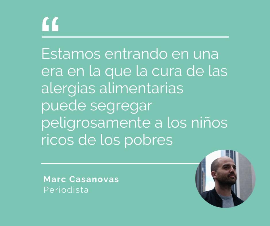 Marc Casanova cacahuete